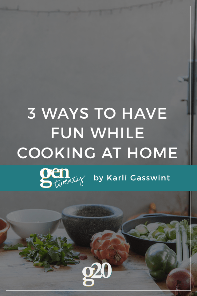 "For me, ""cooking"" used to mean ordering pizza. I thought it was boring, but then I found 3 ways to make it a whole lotta fun."