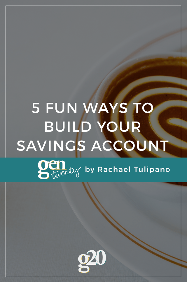 Saving money doesn't have to be a drag. In fact, building your savings is self-investment that gives you freedom.