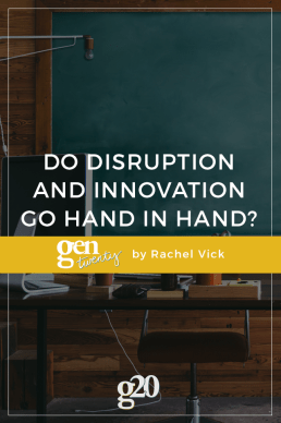 Do Disruption and Innovation Go Hand in Hand?