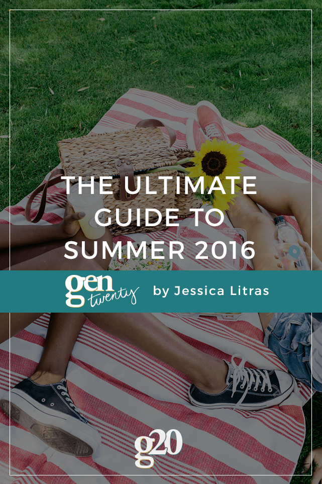 Want to make summer 2016 your best one yet? Peep our ultimate guide to fun activities and goals for the warmer weather.