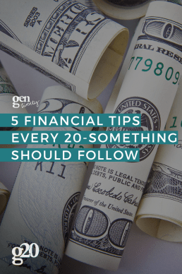 5 Financial Tips Every Twenty-Something Should Follow