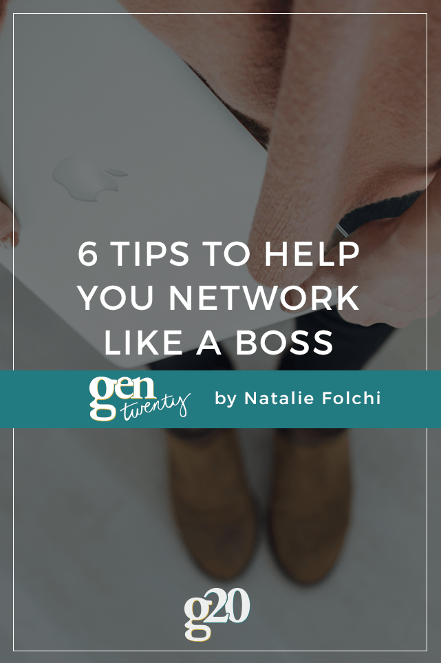 So you KNOW you need to network, but HOW do you get started? Well, girlboss, here are 6 tips to help you network like a pro.