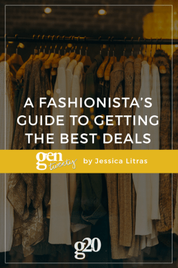 A Fashionista's Guide For Getting The Best Deals