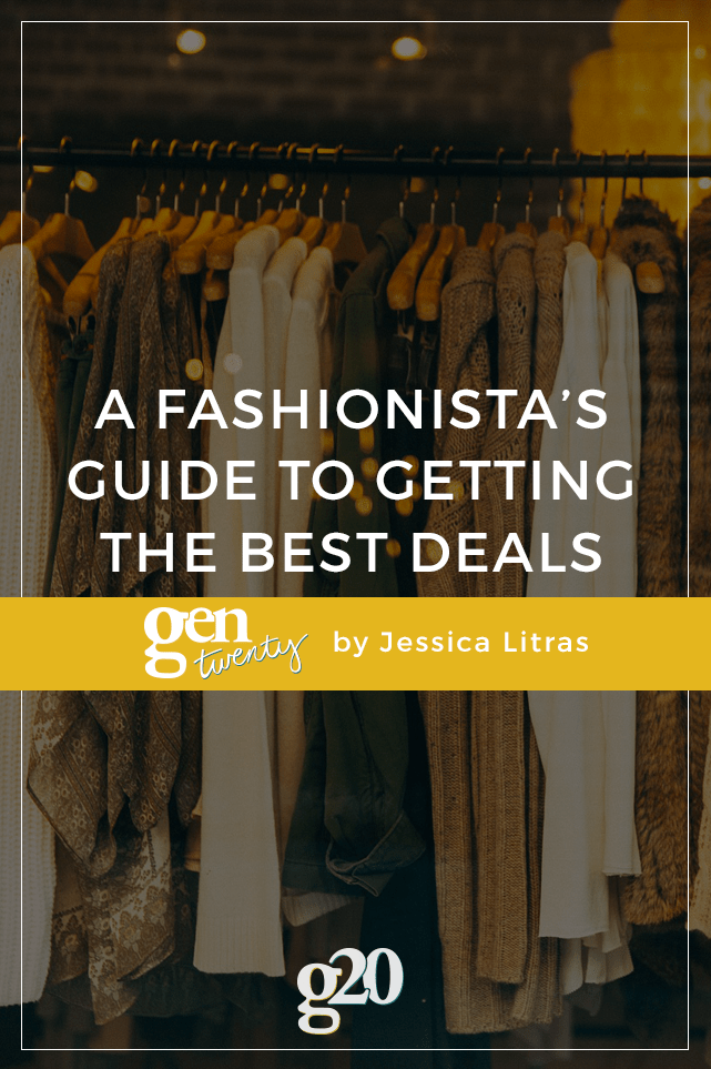 Are you a shopaholic? It's okay, me too. Here are some tips for getting the best deal!