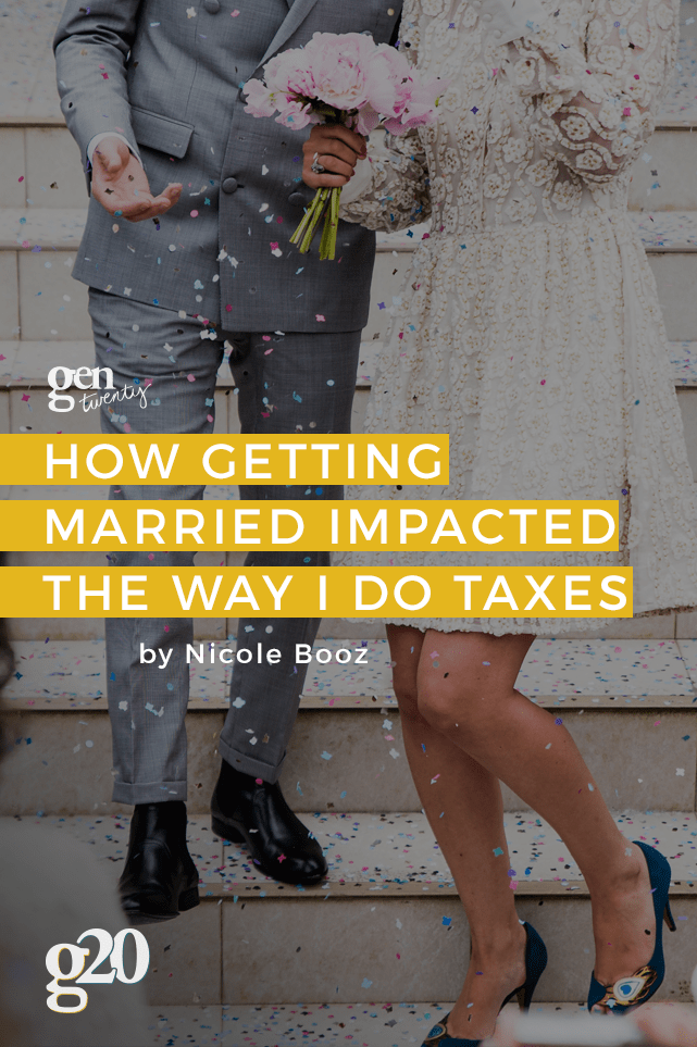 doing your taxes when you're married