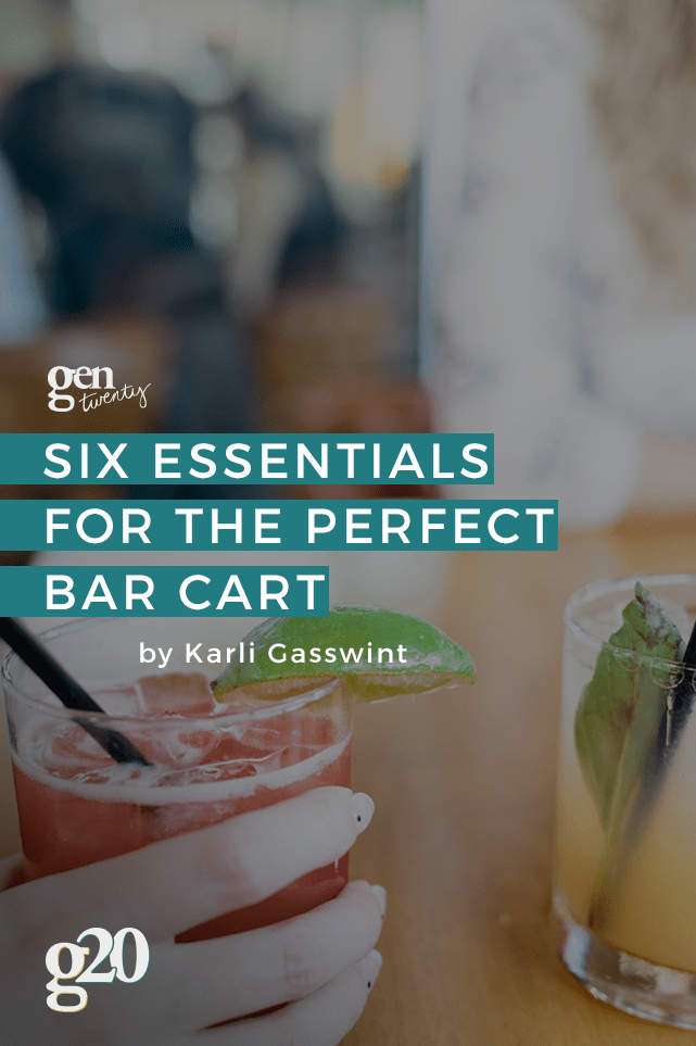 The guide to stocking your bar cart to be the best hostess ever!
