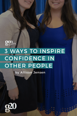 3 Ways to Encourage Others to Be Confident
