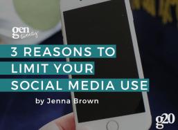 3 Reasons Why Twenty-Somethings Should Limit Their Social Media Use