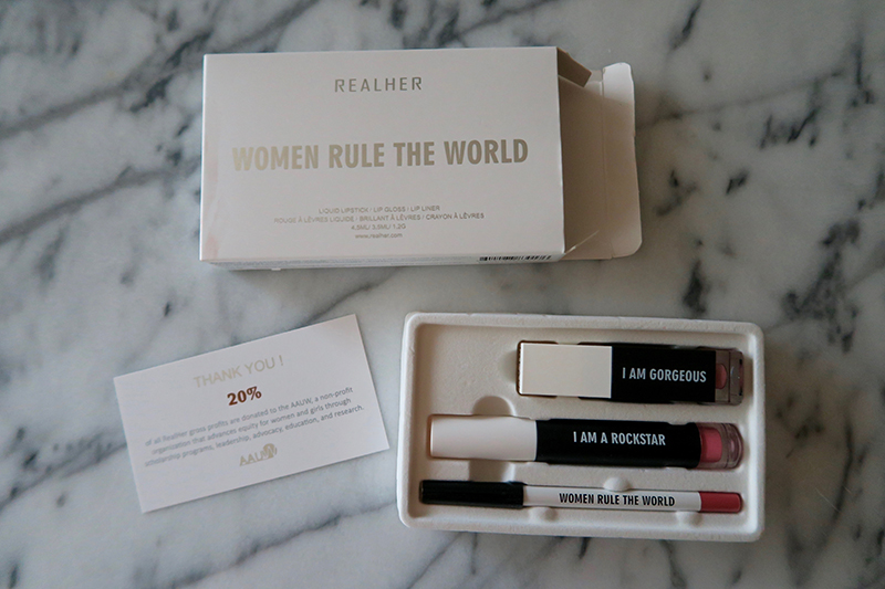 Lip products to empower women.