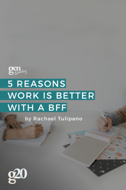 Work BFF: 5 Reasons Work is Better with a Work Best Friend