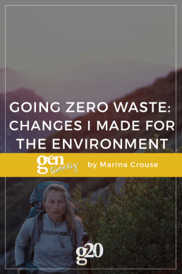 Going Zero Waste: Changes I Made for the Environment