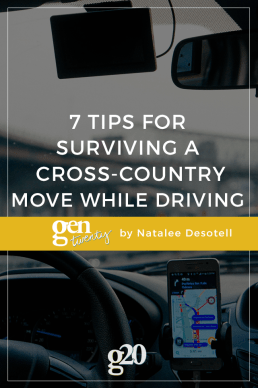 7 Tips for Surviving a Cross-Country Move While Driving