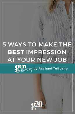5 Tips to Make the Best First Impression at Your New Job