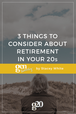 3 Things to Consider About Retirement in Your 20s