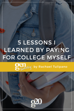 5 Lessons I Learned By Paying for College Myself