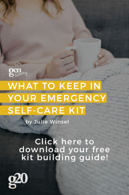 What To Keep in Your Emergency Self-Care Toolkit (plus FREE Kit-Building Download!)