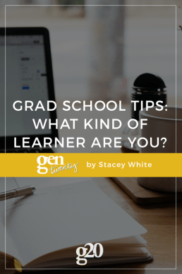 Grad School Study Tips: What Kind of Learner Are You?