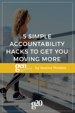 5 Simple Accountability Hacks to Get You Moving More