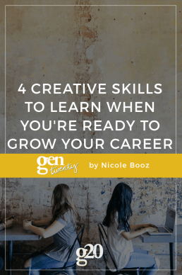 4 Creative Skills to Learn When You're Ready to Grow Your Career