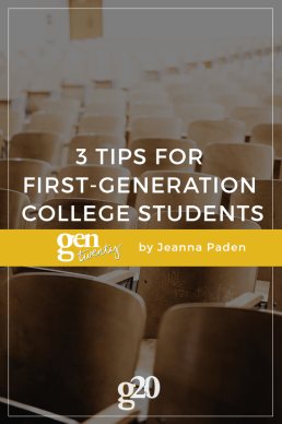 3 Success Tips for First-Generation College Students