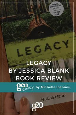 """Legacy"" by Jessica Blank Book Review"