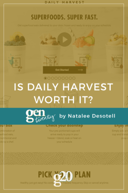 Daily Harvest: Is It Worth It?