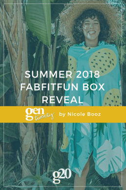 Summer 2018 FabFitFun Box Reveal