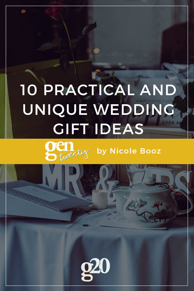 10 Practical And Unique Wedding Gift Ideas Gentwenty