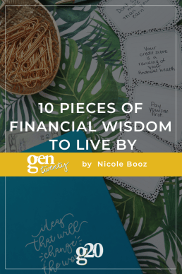 10 Pieces of Financial Wisdom To Live By