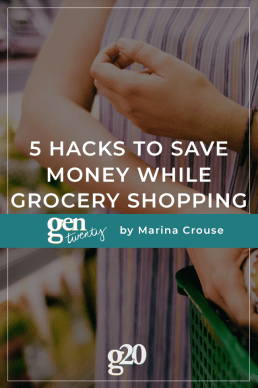 5 Hacks to Save Money While Grocery Shopping