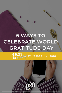 5 Ways To Celebrate World Gratitude Day