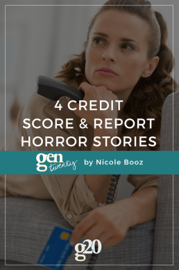 4 Credit Horror Stories
