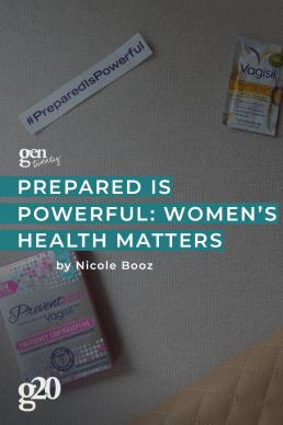 Prepared Is Powerful: Women's Health Matters