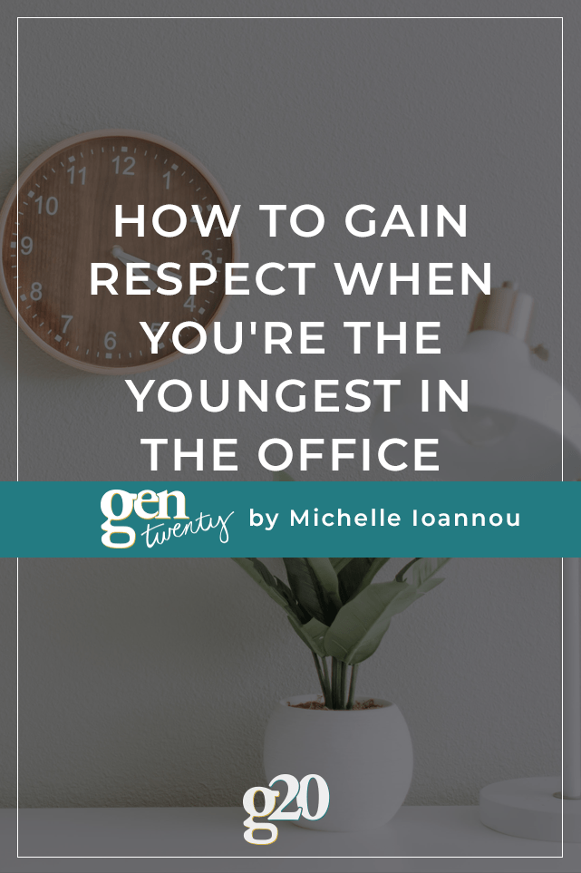 How To Gain Respect When You're The Youngest In The Office