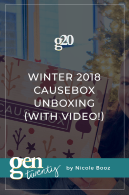Winter 2018 Causebox Unboxing (With Video!)