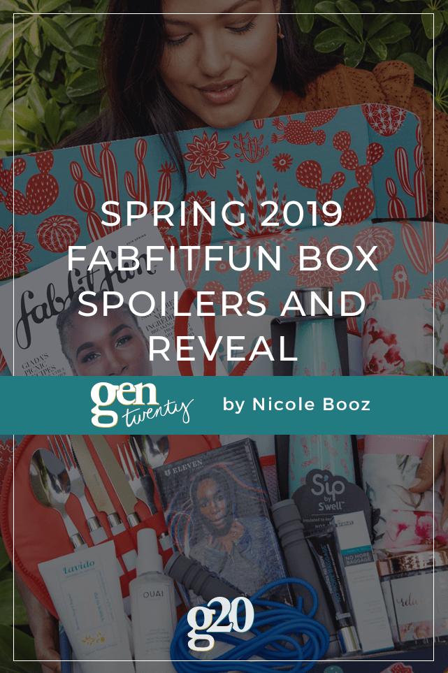Spring 2019 FabFitFun Spoilers