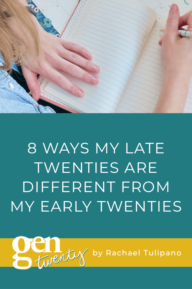 8 Ways My Late Twenties Are Different From My Early Twenties