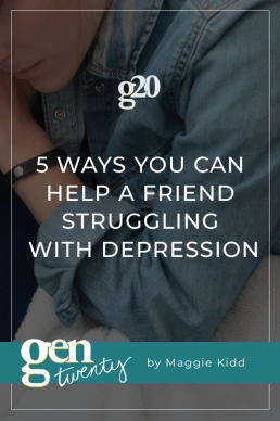 5 Ways You Can Help A Friend Struggling With Depression