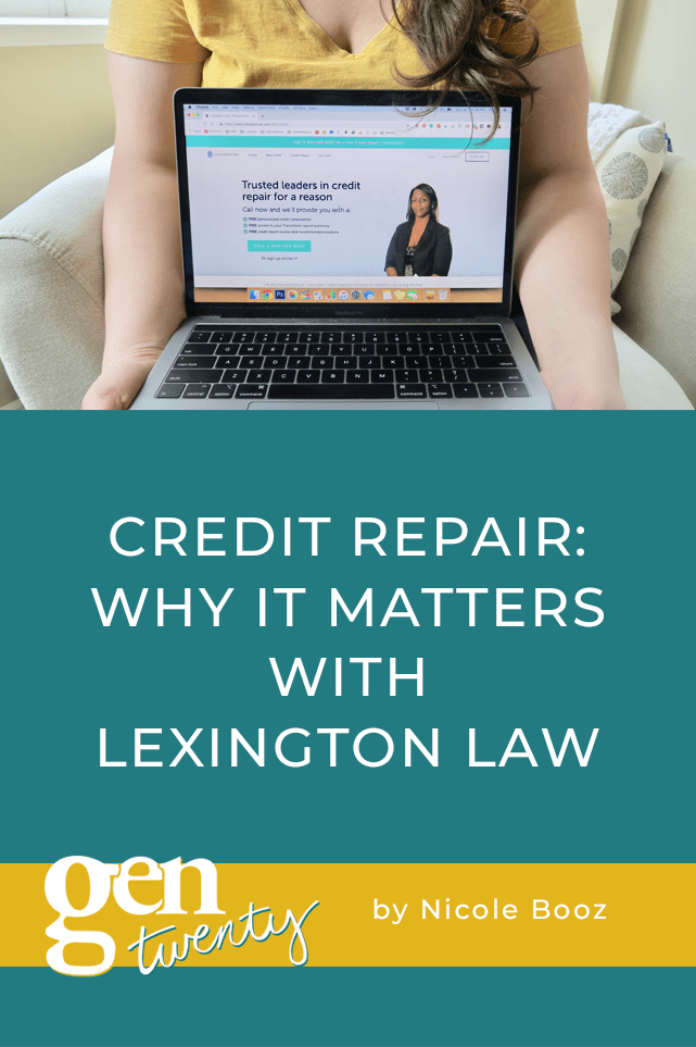 title photo: Credit Repair: Why It Matters With Lexington Law