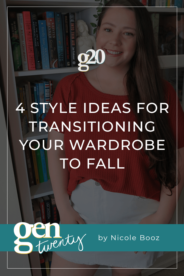 title photo: 4 Style Ideas For Transitioning Your Wardrobe To Fall