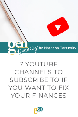 7 YouTube Channels to Subscribe To If You Want To Fix Your Finances