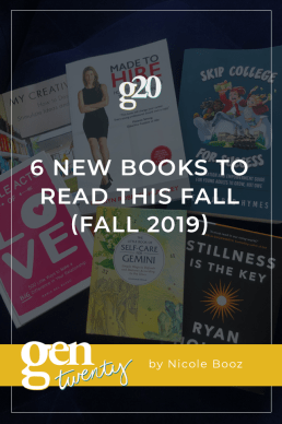 6 New Books To Read This Fall (Fall 2019)
