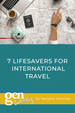 7 Lifesavers for International Travel