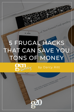 5 Frugal Hacks That Can Save You Tons of Money
