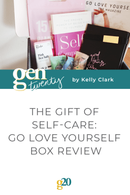 The Gift of Self-Care: Go Love Yourself Box Review