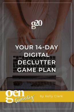Digital Declutter Challenge: Your 14-Day Game Plan