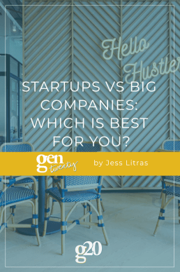 Startups Vs Big Companies: Which is Best For You?