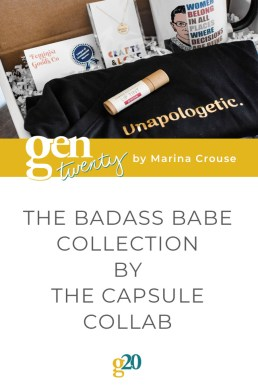 The Capsule Collab: Badass Babe