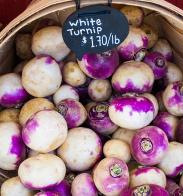 Picture of Basket of Turnips