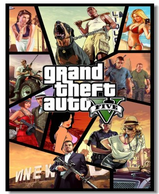 GTA 5 Grand Theft Auto V - Rockstar Global Key PC